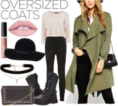 How To Wear Oversized Coats