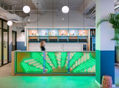 Eras and cultures playfully interact in Linehouse's design for the Chinese flagship location of the shared community office space WeWork in Weihai Lu, Shanghai. Completed in 2016, the five thousand five hundred square meters space is at once charming and quaint, respectful of the heritage of its ancient location while celebrating its thoroughly modern purpose.