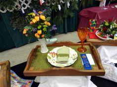 flower show breakfast trays Table Arrangements, Floral Arrangements, Flower Arrangement, Creative Decor, Creative Design, Garden Show, Garden Club, Breakfast Tray, Flower Show