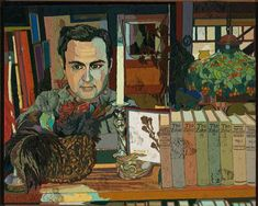 """Jess, """"The Enamord Mage: Translation #6″ (1965), oil on canvas over wood, 24 1/2 x 30 in (Collection of M. H. de Young Memorial Museum, Fine Arts Museums of San Francisco, image courtesy Grey Art Gallery, New York University)"""