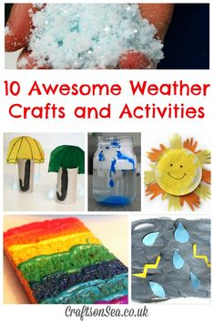 Weather Crafts and Activities: Tuesday Tutorials