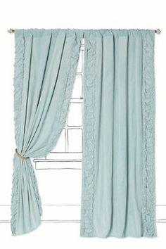Parlor Curtain- super cool details