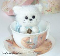Amigurumi Fluffy Cat (free pattern)