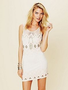 Free People Clothing Boutique > Zig To The Zag Mini Dress