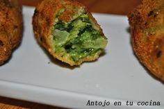Croquetas de espinacas -spinach croquettes