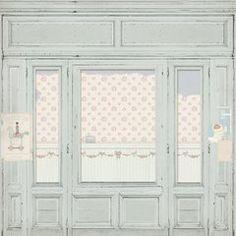 Paper Pad - The Corner Shop, x cm, / 24 sh. Kirigami, Panduro Hobby, Doll House Wallpaper, Etiquette Vintage, Wall Carpet, Room Setup, Decoupage Paper, Vintage Ephemera, Paper Cards