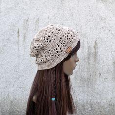 Cotton Hat, Cool Hats, Bohemian, Hippie Boho, Crochet Hats, Brown Beige, Trending Outfits, Lace, Unique Jewelry
