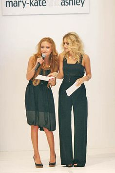 Loved MKs hair like this. And ash's suit is to die for