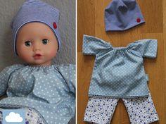 Puppenkleider - Kleiderset für 30cm Puppe