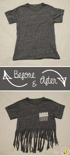 Mẹo tái chế quần áo cũ