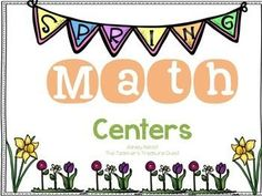 This packet contains over 12 hands on math centers for Spring! *Money Match I*Money Match II*Skip Counting Mats (5)*Spring Addition Fun*Spring Subtraction Fun*Spring Estimations*Spring Skip Counting Puzzles (3)*Spring Find and Graph*Spring Doubles and Near Doubles Match Up*Spring 3 Digit Addition Facts*Spring Printable Counting Work Mats (3)*Spring Word Problem Task Cards (8)Themes: Easter Math Centers, Spring Math, April Math CentersThank You!Ashley BenoitThe Teacher's Treasure Chest