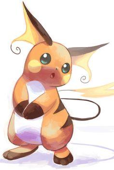 Raichu Pokemon Comics, Pokemon Fan Art, My Pokemon, Cool Pokemon, Pokemon Stuff, Pichu Pikachu Raichu, Pokemon Eeveelutions, Bulbasaur, Pikachu Evolution