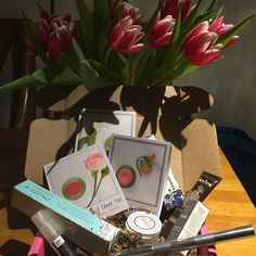 This is a box of natural new beauty care products Ever wanted to try Tata Harper beautiful cheek and lip tint this box has three deluxe samples along with some other natural brands includes three full size products in it worth over 24.00 dollars get a taste of a more kind way to look beautiful and be pleasantly surprised all at once I have made the change to a harsh chemical free beauty routine and it's made such a difference in my life. Tata Harper Makeup Blush