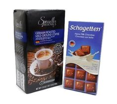 German Gourmet Gifts Fine Coffee Chocolate ** Continue to the product at the image link. Gourmet Candy, Gourmet Cookies, Gourmet Gifts, Gourmet Recipes, Alcoholic Coffee Drinks, Coffee With Alcohol, Chocolate Coffee, German, Tableware