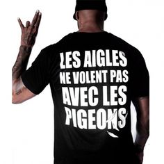 Tee Shirt Unkut Aigles Noir - LaBoutiqueOfficielle.com