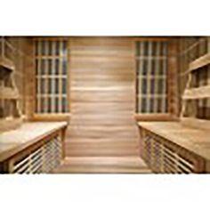 Chromotherapy, Infrared Sauna, Saunas, Exterior Lighting, Interior And Exterior, Relax, Cabin, Outdoor Decor, Home