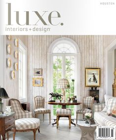 Laurie Pearson design project in luxe. magazine