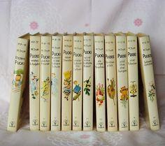 Vintage Kinderbücher - Pucki-Bücher, Band 1-12, v.Magda Trott, 70er Jahre - ein Designerstück von Speicherfunde bei DaWanda