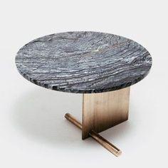 Mesas en que puedes inspirar para cambiares alguna zona de tú casa! Puedes ver más ideas aquí Marble Furniture, Metal Furniture, New Furniture, Furniture Design, Tea Table Design, Design Tisch, Diy Coffee Table, Elegante Designs, Center Table