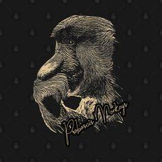 Proboscis Monkeys - Animals - T-Shirt | TeePublic