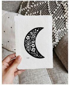 Linocut Prints, Art Prints, Block Prints, Intaglio Printmaking, Lino Art, Garden Illustration, Moon Illustration, Stamp Carving, Linoprint