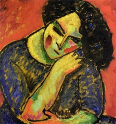 Alexej von Jawlensky - Portrait of a Woman