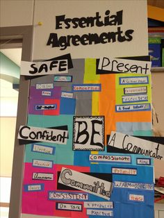 Pyp essential agreements  I love post its