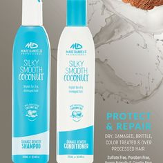 Launching Very Soon Is The Marc Daniels Silky Smooth Coconut Range