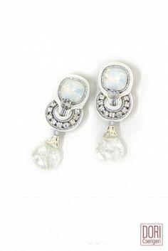 DORi Csengeri  Bridal  Collection Dream Crystal Drop Earrings