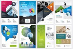 Flyer Bundle by PixWork on @creativemarket
