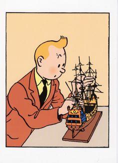 The Secret of the Unicorn - Tintin - Tenten