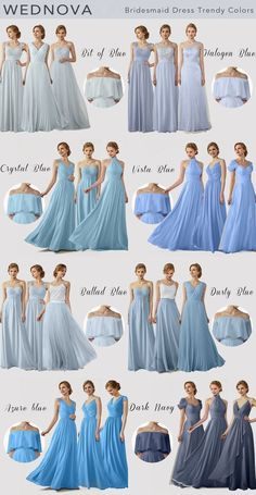 Spaghetti straps bridesmaid dress blue one shoulder dress with tulle a line dres. - Spaghetti straps bridesmaid dress blue one shoulder dress with tulle a line dresses dark navy for w - Dusty Blue Bridesmaid Dresses, Wedding Bridesmaid Dresses, Wedding Party Dresses, Blue Dresses, Pastel Blue Dress, Prom Dresses, Quince Dresses, Chiffon Dresses, Party Gowns