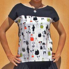 Camiseta Arorua versión mi rincón de mariposas