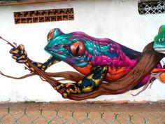 Streetart by Farid Rueda - via Numerik