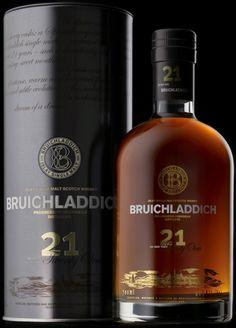 Le Bruichladdich est trop bon... 21 Year Old Whisky - Single Malt Scotch