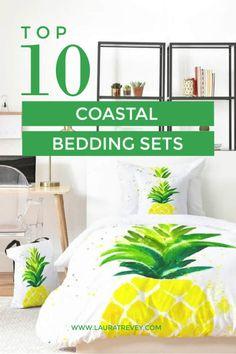Coastal Living Inspired Beach Bedding Sets