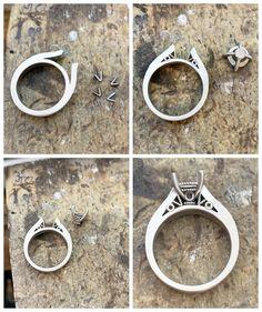 Hand Jewelry, Gems Jewelry, Jewelry Crafts, Jewelry Art, Handmade Jewelry, Jewelry Design, Diy Jewellery, Jewellery Storage, Lapis Lazuli Jewelry