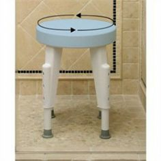 Maddak Inc Shower Seat, Rotating  - Price ( MSRP: $ 120.62Your Price: $72.66Save up to 40% ). http://www.discountmedicalsupplies.com/store/bath-and-shower-safety/showers-stools-seats/mdk116r.html