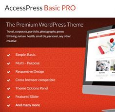 AccessPress Basic PRO - Multi-purpose WordPress Theme for your Website