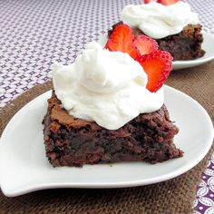 Gooey Strawberry Chocolate Chip Brownies