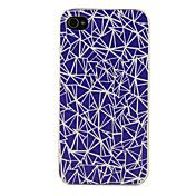 PC Geometry Pattern Hard Case for iPhone 4/4S – USD $ 3.99