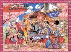 One Piece (Roronoa Zoro, Monkey D. Luffy, Sanji, Nami, Usopp, Tony Tony Chopper)