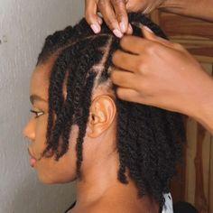 Hair Twist Styles, Medium Hair Styles, Curly Hair Styles, Natural Hair Styles, Natural Beauty, African Hairstyles For Kids, Easy Toddler Hairstyles, Kids Hairstyle, Two Strand Twist Hairstyles