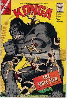 Konga 10  January 1963 Issue  Charlton Comics Group.