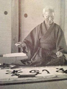 Sensei Gichin Funakoshi... Martial arts masters and gurus: