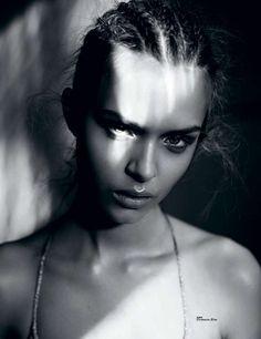 The Tush Magazine 'Blink Blink' Photoshoot Stars Josephine Skriver #hair #braids trendhunter.com