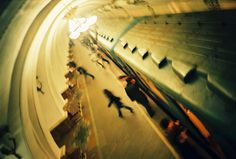 Russian metro... I heard that was once a military secret and you are not allowed to take photo in them.. Here is a secret one taken by our spy LC-A. #LC-A #Lomography #1986