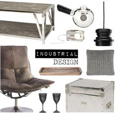 """Industrial Design"" by occahome on Polyvore"