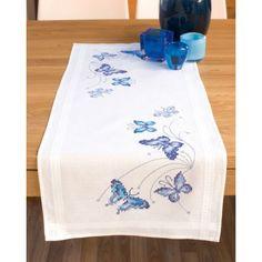 Papillons  bleus  0145089  Vervaco  5413480193110