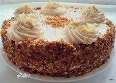 Очень вкусный торт с медово-ореховыми нотами и вкусным, ароматным кремом!